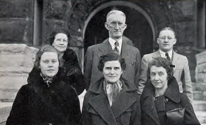 Commerce Faculty 1937