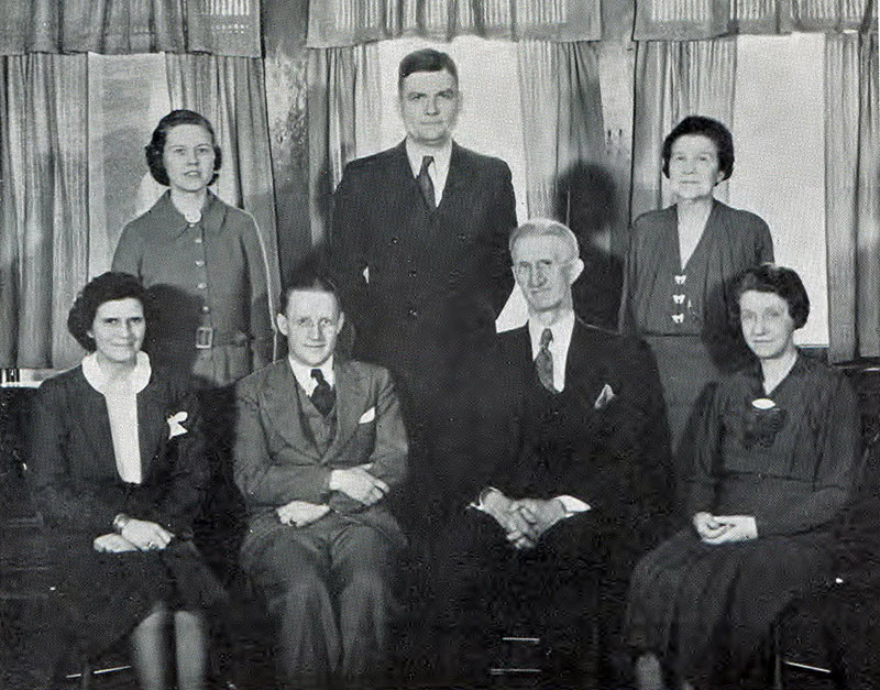 Commerce Faculty 1938