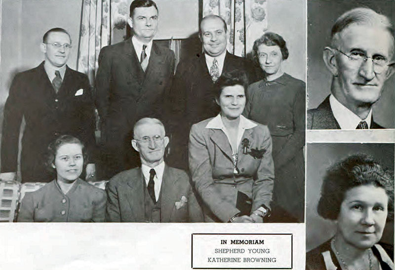 Commerce Faculty 1941