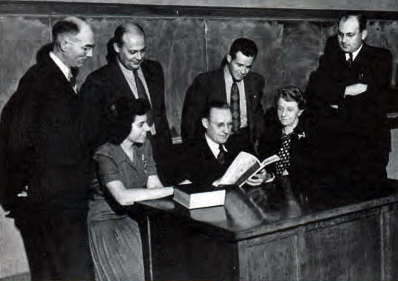 Commerce Faculty 1947