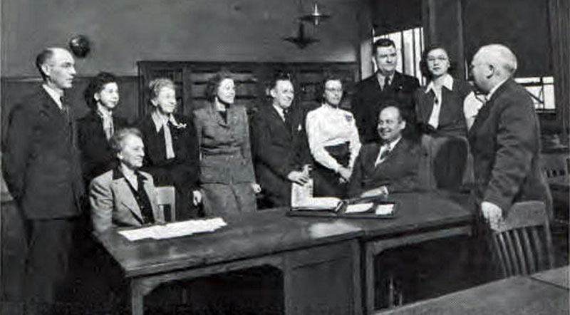 Commerce Faculty 1948