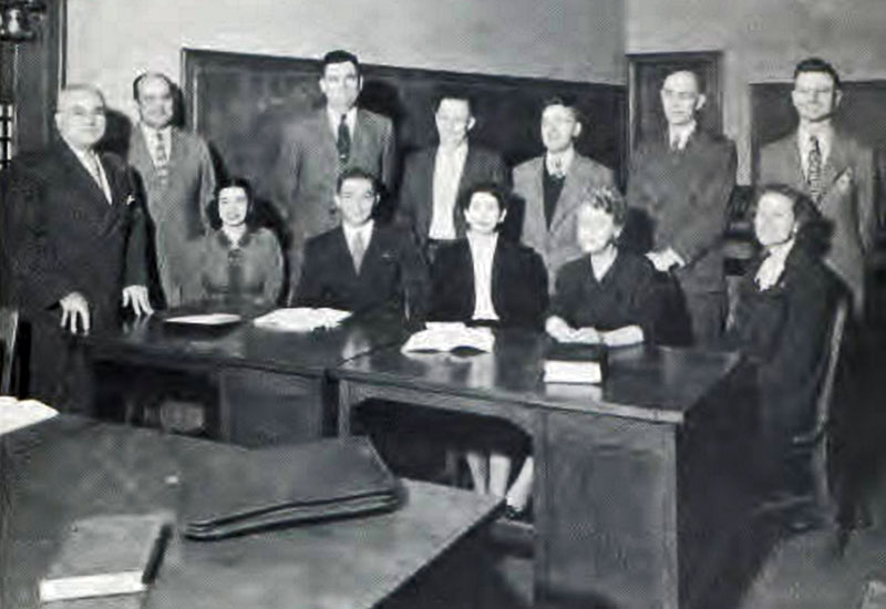 Commerce Faculty 1949