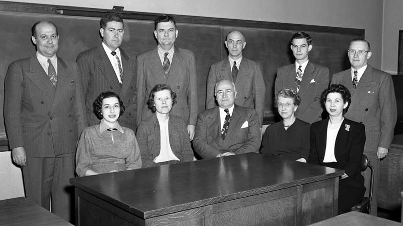 Commerce Faculty 1951