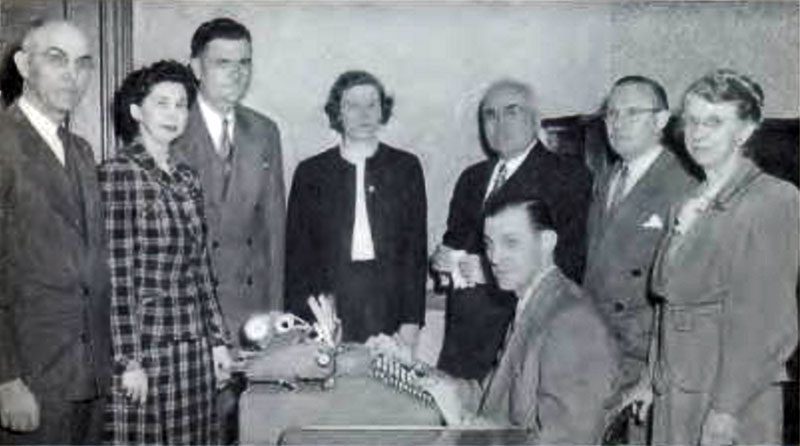 Commerce Faculty 1953