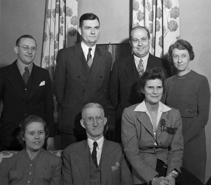 Commerce faculty, November 1940