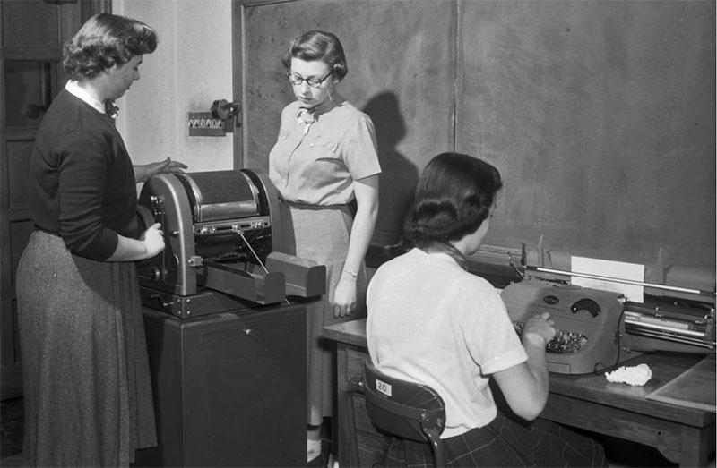 Commerce practice, November 9, 1954