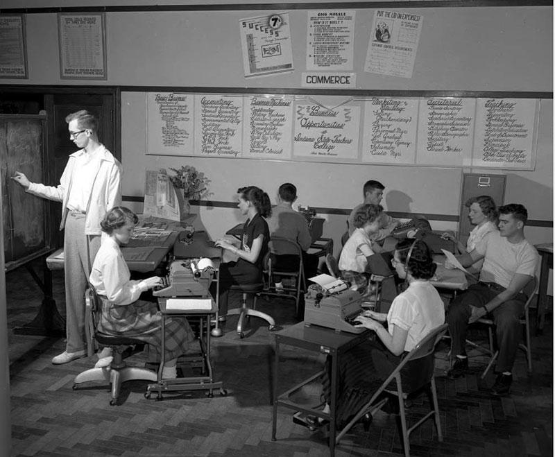 Commerce practice 1953