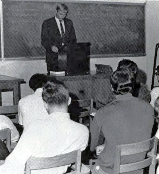 Mr. Obenburger's Communications Class