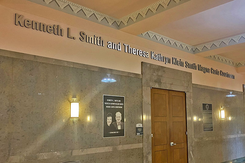 Renaming of the Courtroom