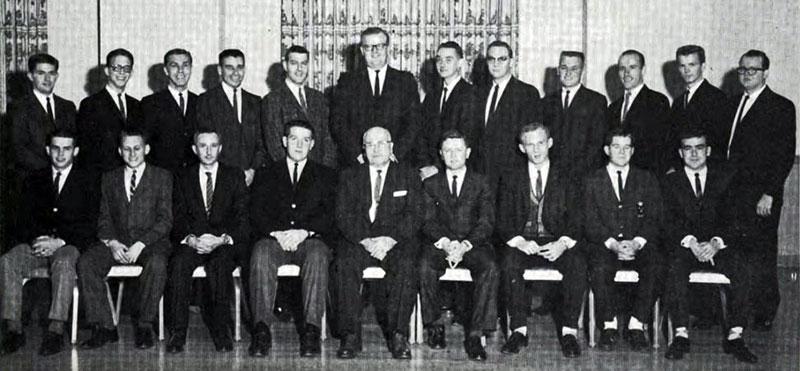 Delta Sigma Pi, Delta Tau chapter,1961