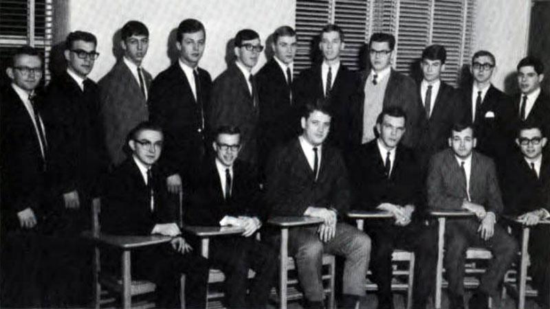 Delta Sigma Pi, Delta Tau chapter, 1966