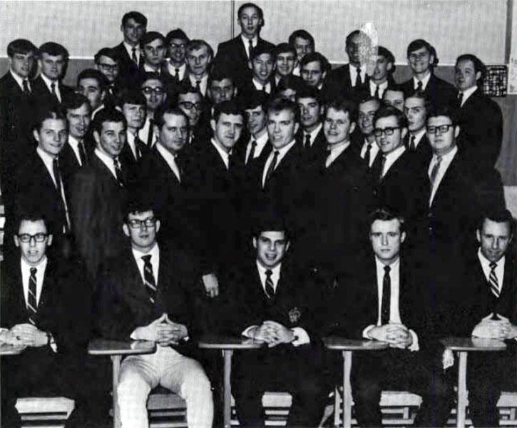 Delta Sigma Pi, Delta Tau chapter, 1968