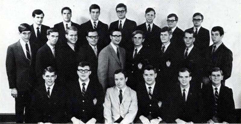 Delta Sigma Pi, Delta Tau chapter, 1969
