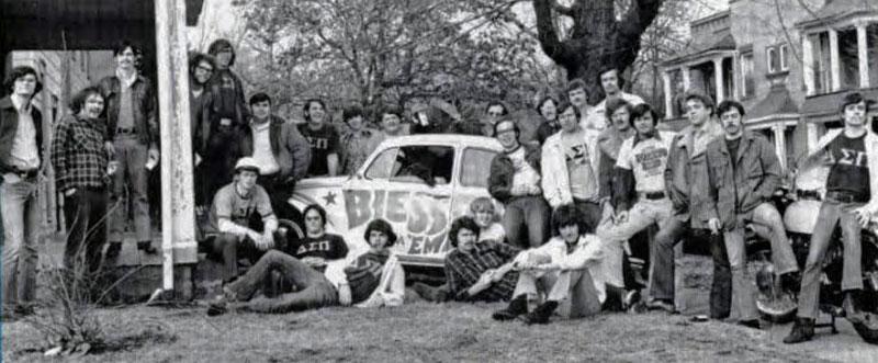 Delta Sigma Pi, Delta Tau chapter, 1973