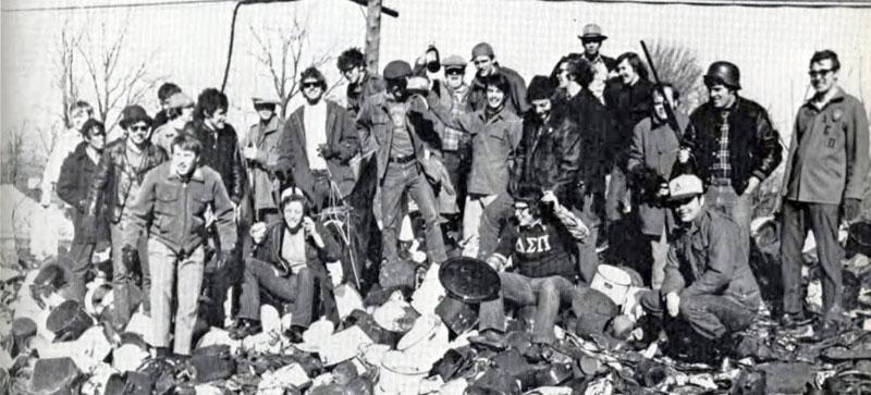 Delta Sigma Pi, Delta Tau chapter, 1972