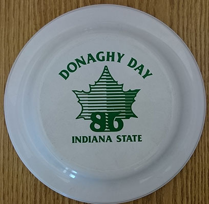 Donaghy Day frisbee, 1986
