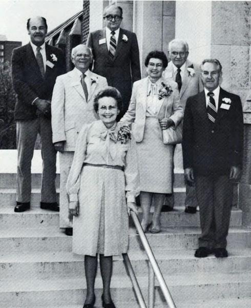 Retiring Faculty, 1984