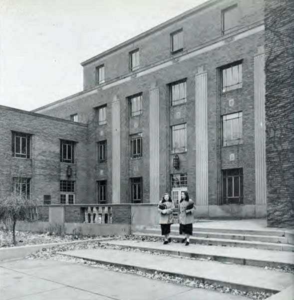 Fine Arts and Commerce Building, 1952