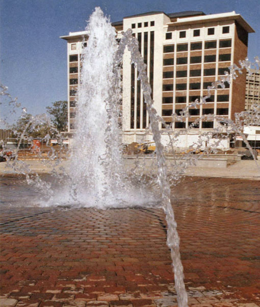 Dede Plaza Fountain, 1991