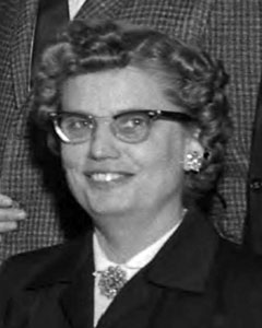 Ruth Hartman, January 10, 1961
