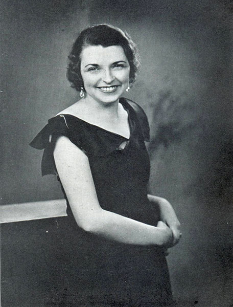 Ruby Lawder, 1933