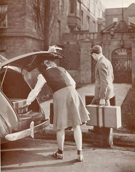 Moving in, 1941