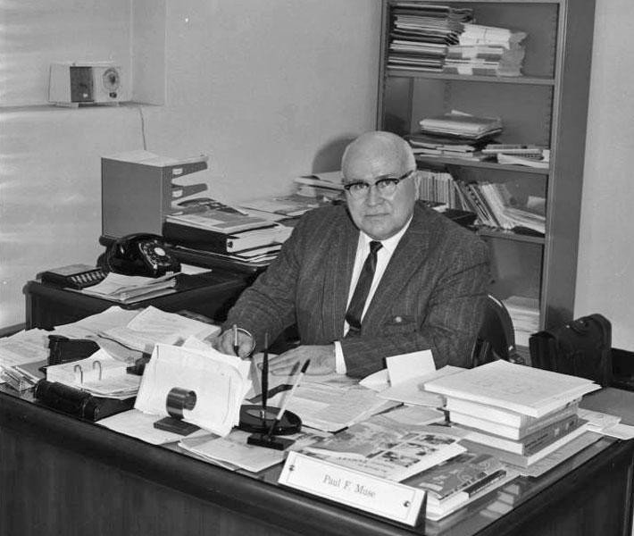 Paul F. Muse, January 7, 1965
