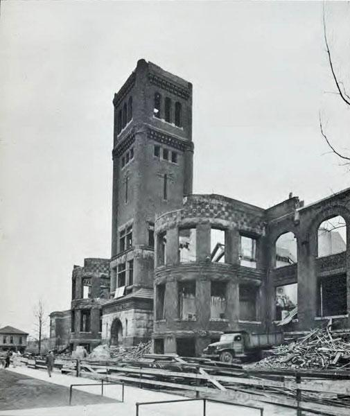 Old Main, 1950