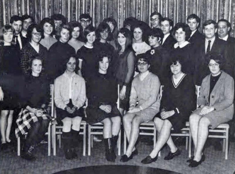 Future Business Leaders of America (Phi Beta Lambda), 1968