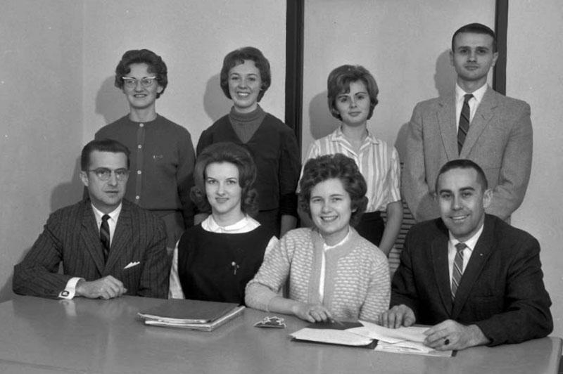 Pi Omega Pi, Chi Chapter, December 5, 1963