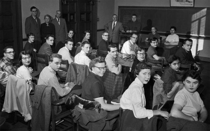 Pi Omega Pi, Chi Chapter, December 6, 1955