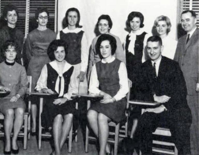 Pi Omega Pi, Chi Chapter, 1966