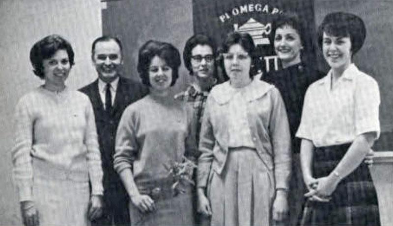 Pi Omega Pi, Chi Chapter, 1967