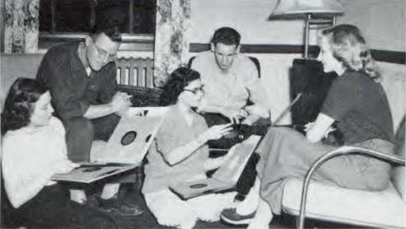 Record Lounge, 1950