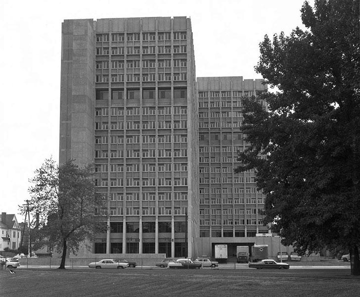 Statesman Towers, August 6, 1968