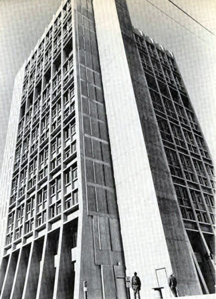 Statesman Towers, 1969