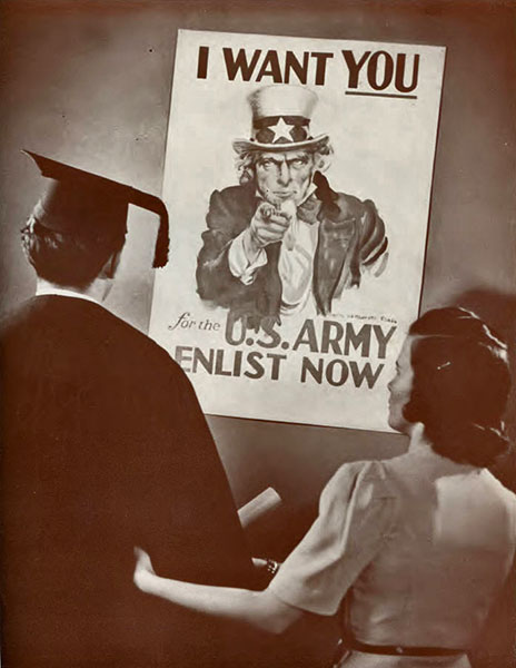 Enlistment poster, 1941