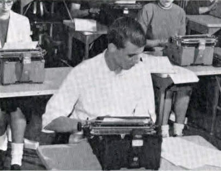 Typing, 1957