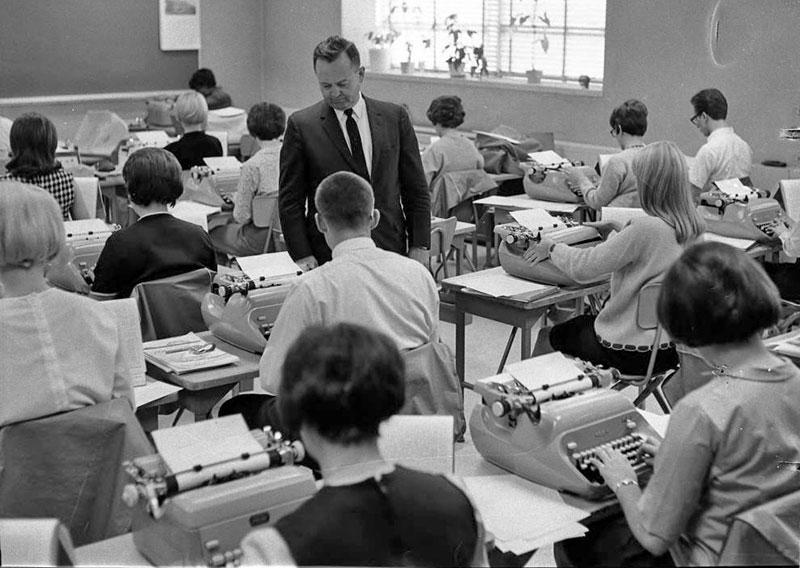 Typing, 1966