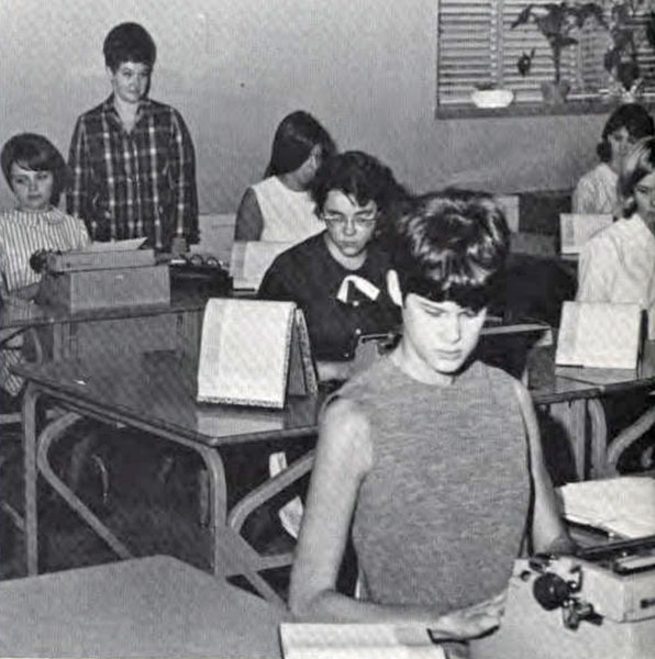 Typing, 1969