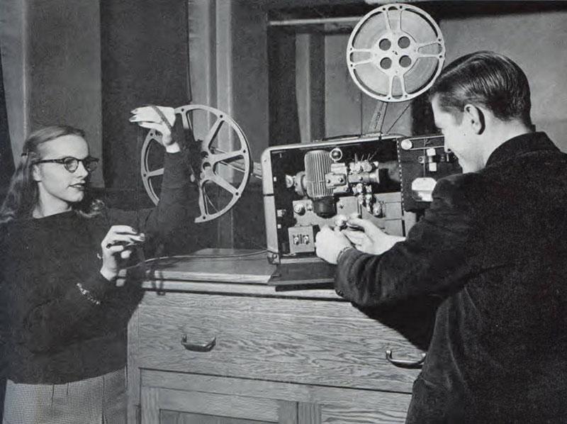 Movie Projector, 1948