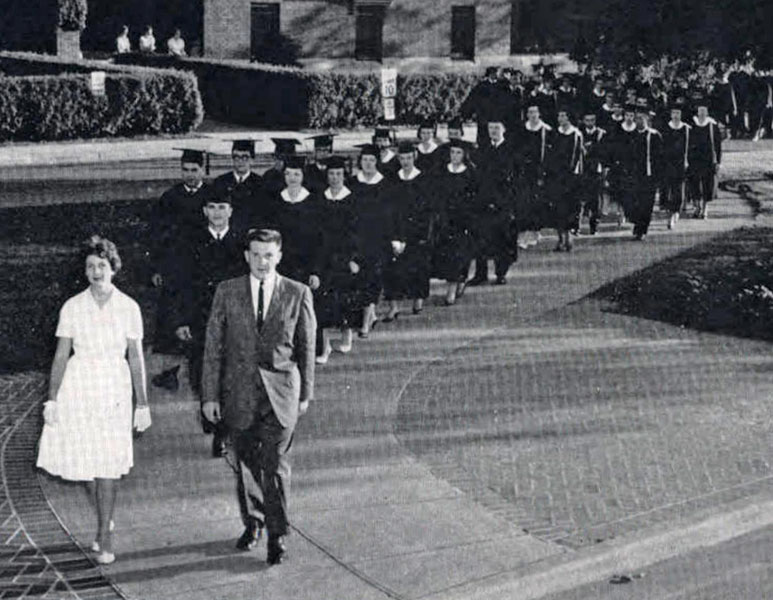 Graduation, 1962