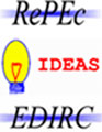 RePEc Ideas EDIRC logos