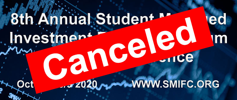 SMIFC 2020 conference canceled
