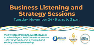 WCISBDC: Business Listening and Strategy Sessions