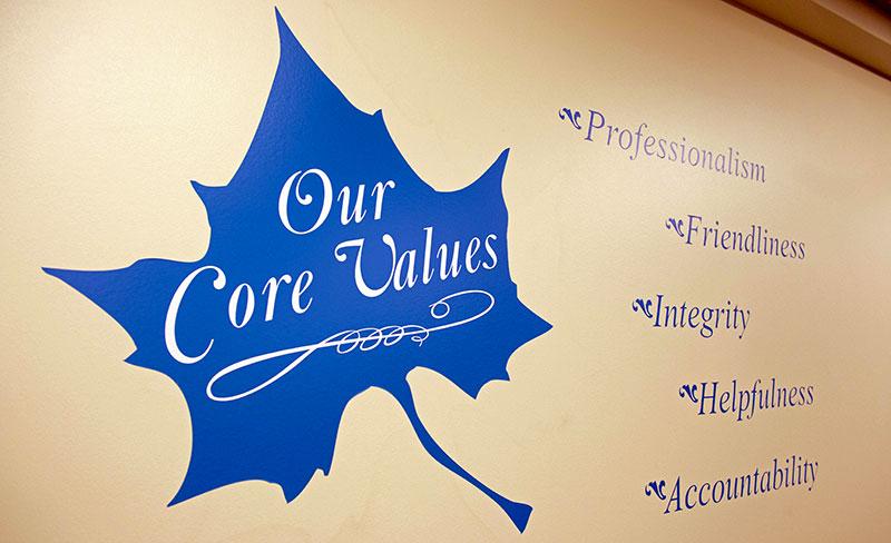 Meis Center Values
