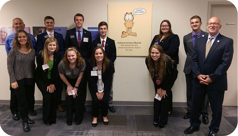 NPDP Industry Visit to Indiana Farmers Mutual Insurance Company
