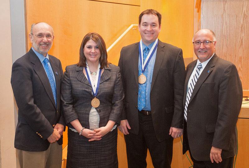 Dan Bradley, Rachel Leslie, T.J. Mattick and Rex Kendall