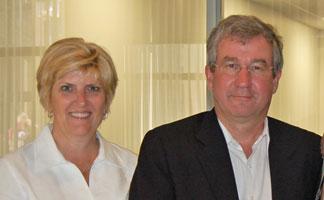 Nancy and Randall Minas