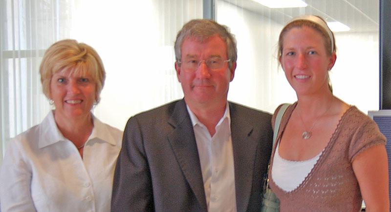 Nancy, Randy and Dawn Minas